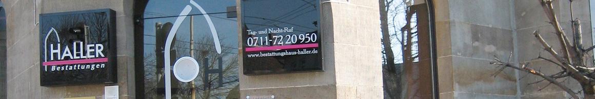 Telefonnummer Bestattungshaus Haller 07117220950